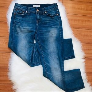 Madewell Alley Straight Leg Crop Jeans Size 26